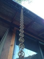 Chain Hanging Off Of Zen Temple Chain Metal Chain Link