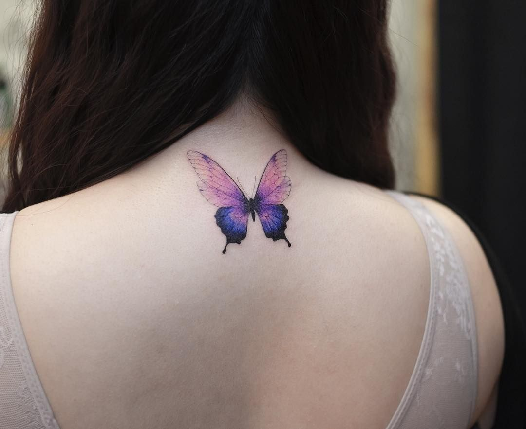 45 Adorable Butterfly Tattoos For Women