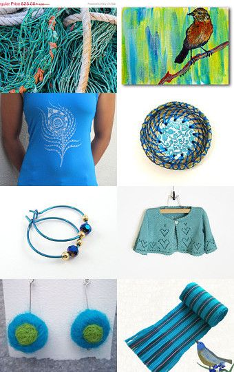 Dreaming of Turquoise Waters and the Beach by Kathy Lindemer on Etsy--Pinned with TreasuryPin.com