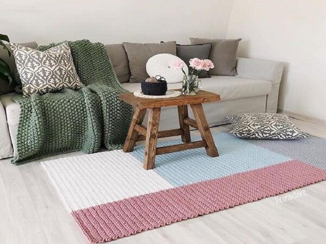 16 Gráficos de Tapete de Crochê para Imprimir +82 Fotos | Revista Artesanato