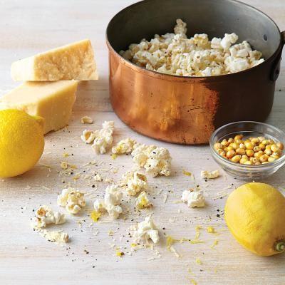 Lemon Parmesan Popcorn Recipe | CookingLight.com