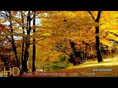 Autumn in the park Poniatowski Lodz Poland - Jesień w parku Poniatowskiego