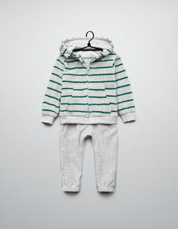 f4bf3e010 striped velour tracksuit | Little Fashionista | Girls pants, Kids ...