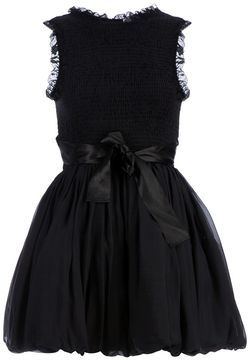 45521ffc2f3 Red Valentino ruched bow detail dress on shopstyle.com