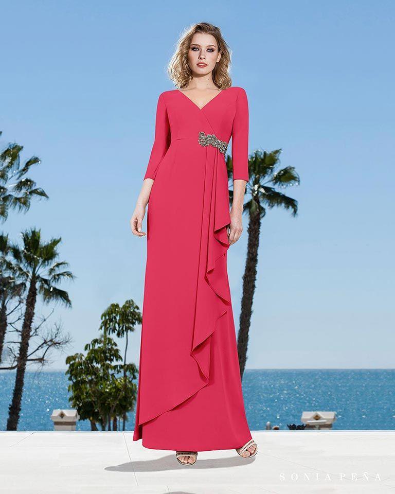 05278b8e1 Vestidos de fiesta 2019. Colección Primavera Verano 2019 Balcón del Mar.  Sonia Peña -