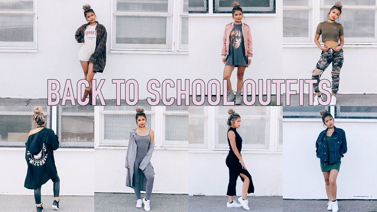 7 BACK TO SCHOOL OUTFIT IDEAS ♡ | Koleen Diaz