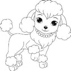 Poodle Coloring Pages Puppy Coloring Pages Dog Coloring Page Valentine Coloring Pages
