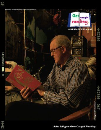 Get Caught Reading -John Lithgow