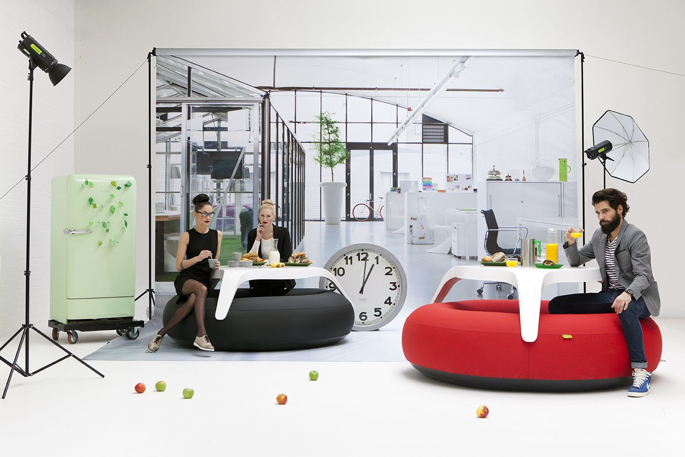 Inflatable furniture  Blofield Donuts and Big Blos  Want  Pinterest