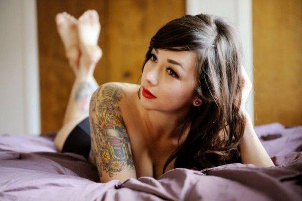 Mod Girls: 43 Lindas garotas tatuadas