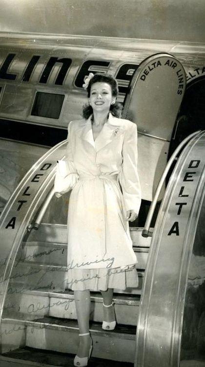 The Film Canister Carole Landis Carole Vintage Aviation