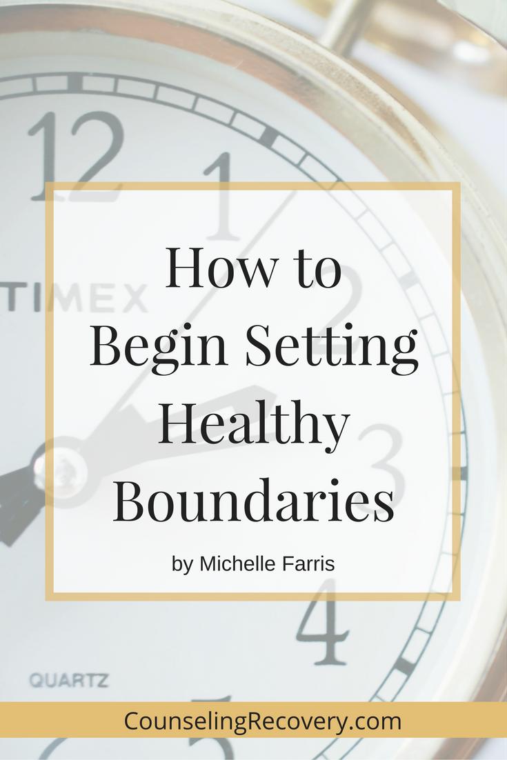 Setting boundaries codependency workbook