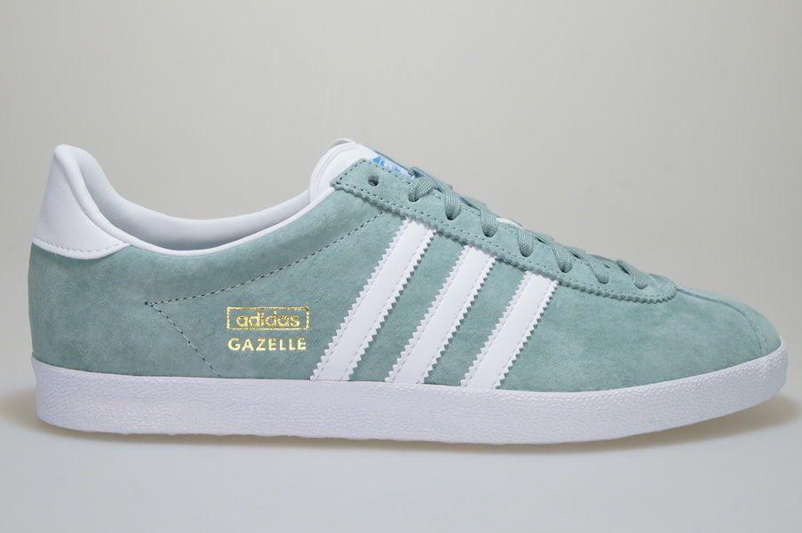 the best attitude a2013 0f03f Adidas Gazelle OG grün S74847 Sneaker Schuhe Originals Männer