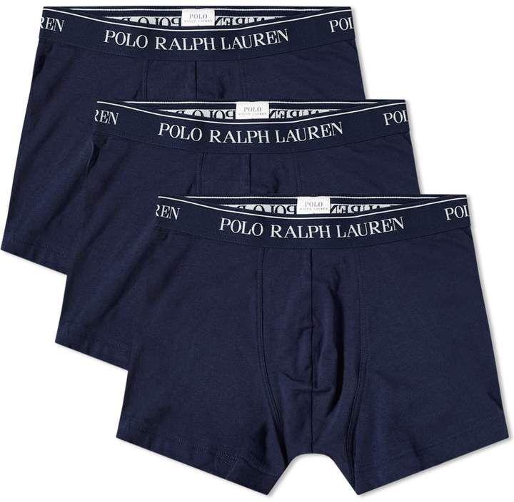 Polo Ralph Lauren Cotton Trunk 3 Pack Hugo Boss Men Casual Ralph Lauren Ralph Lauren Style