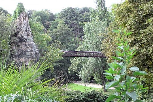 Paris Jungle at buttes-chaumont-parc | Buttes chaumont