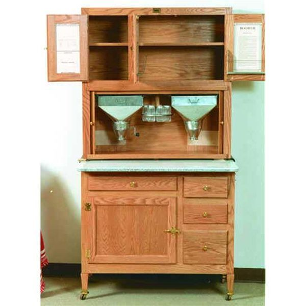 Buy Woodworking Project Paper Plan To Build Hoosier Kitchen Cabinet Afd315 At Woodcraft Com