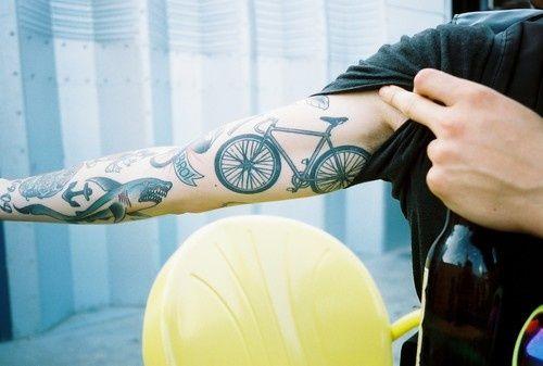 Cool Bike Tattoo                                                                                                                                                                                 More