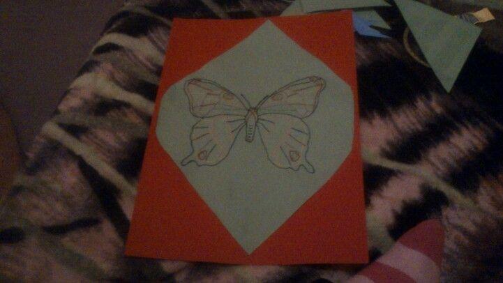 Kleinerer Schmetterling : -)