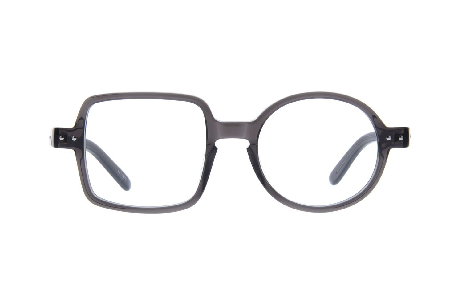 27fb12070d1 Zenni Round Prescription Eyeglasses Gray Tortoiseshell Plastic ...