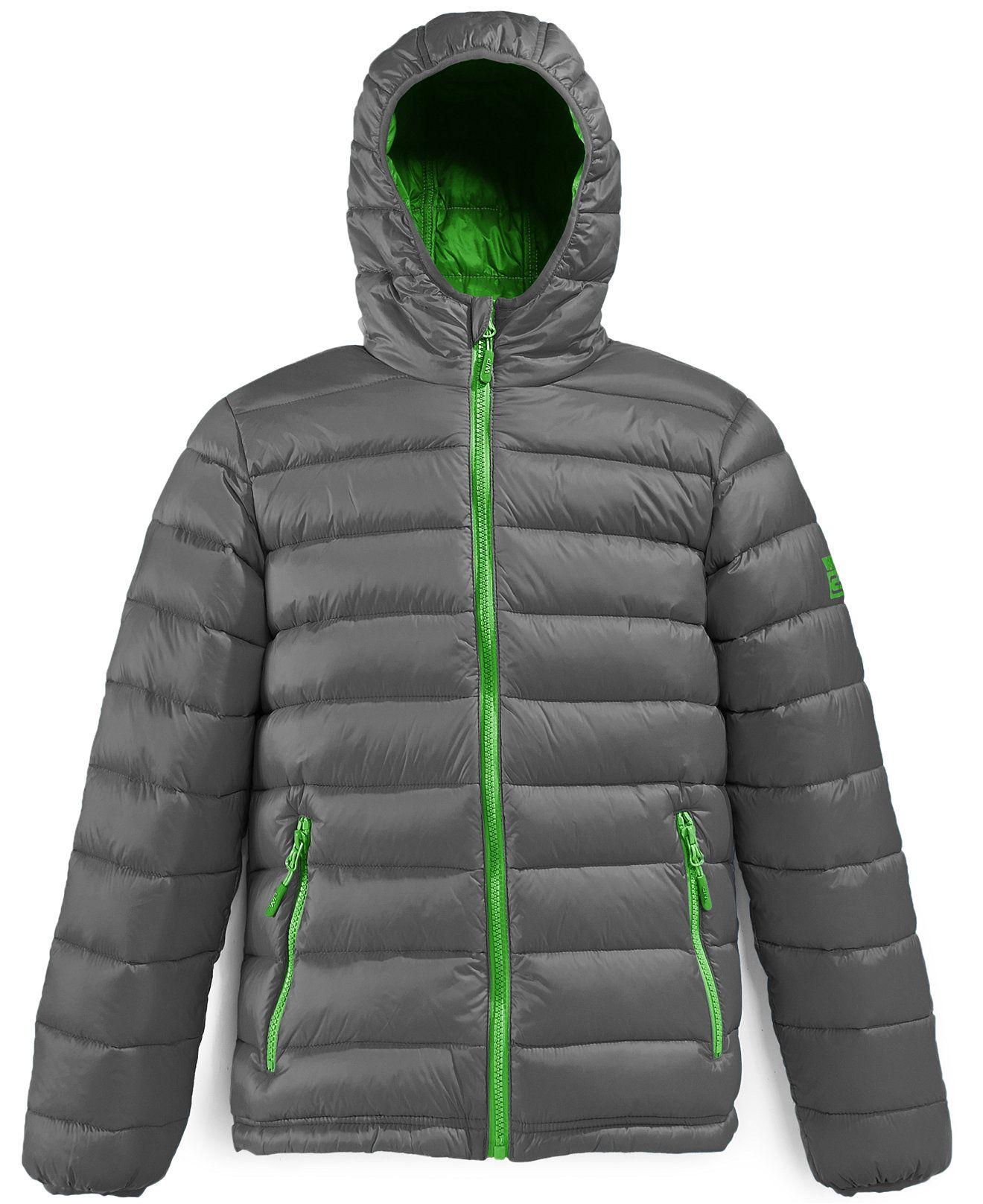 b76ab6dd2c24 Weatherproof Boys  Packable Down Lightweight Jacket - Kids Jackets ...