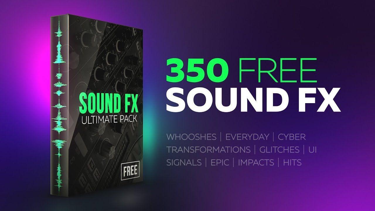 350 Free Sound FX [Motion Bro] Sound, Motion, Motion design