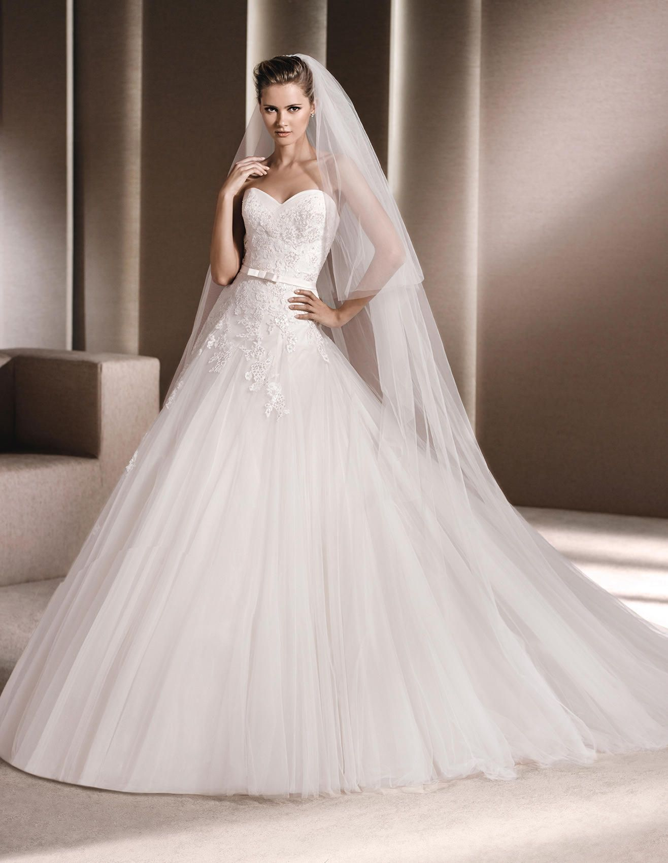 ILARIA - Princess wedding dress, in lace | La Sposa ...