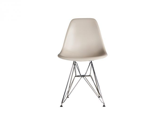 Eames Dsw Stoel : Dsw stoel taupe metaal trendy stoelen products and