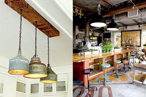 Industriele Keuken Lamp : De industriële keuken ingrediënten heel veel inspiratie tips