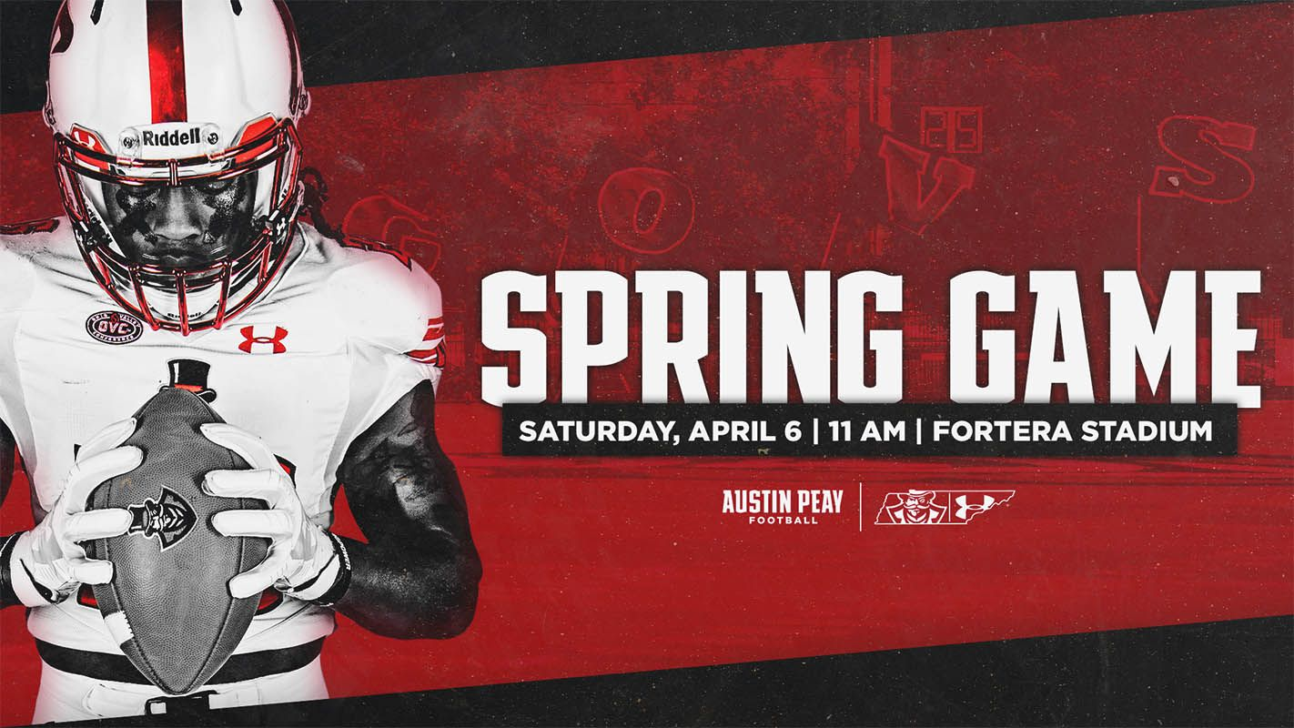 Apsu footballs red and white spring game to feature