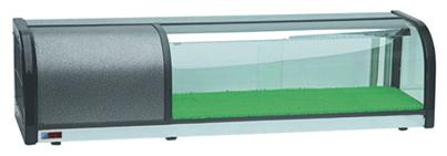 ثلاجه عرض سوشي مقاسات مختلفه اوفركونتر تجهيزات معدات سوبرماركت ثلاجات عرض مطاعم كافي شوب مخابز حلو Display Refrigerator Outdoor Storage Box Sushi