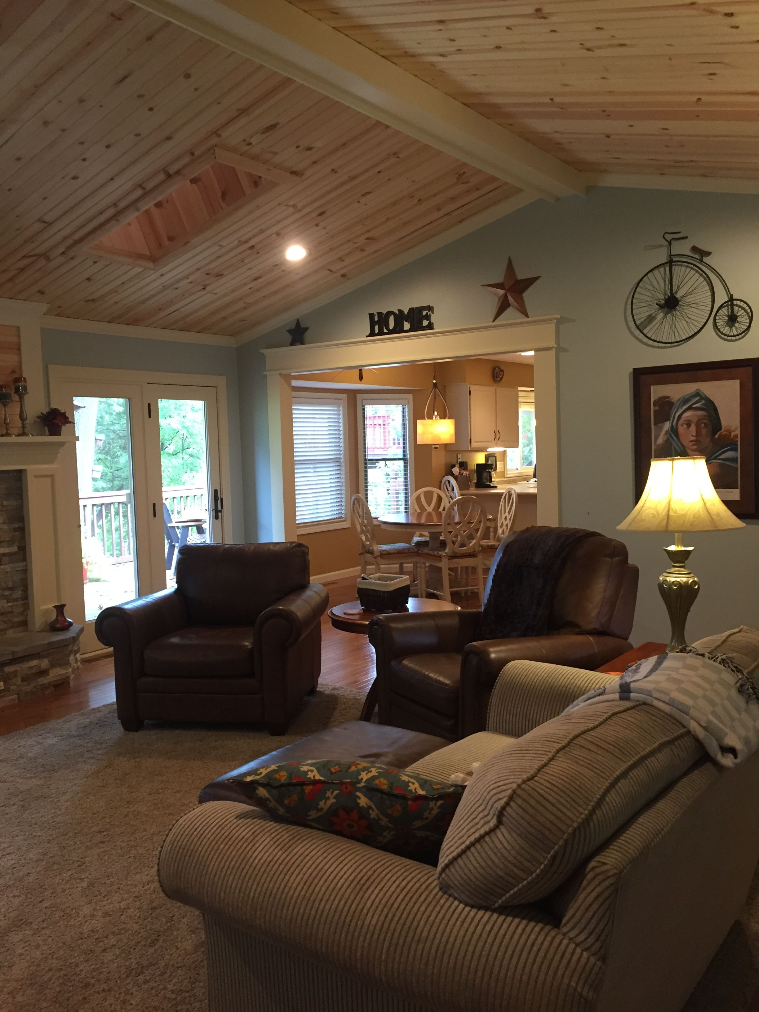 Knotty Pine Ceiling Knotty Pine Living Room Pine Bedroom Vaulted Ceiling Living Room