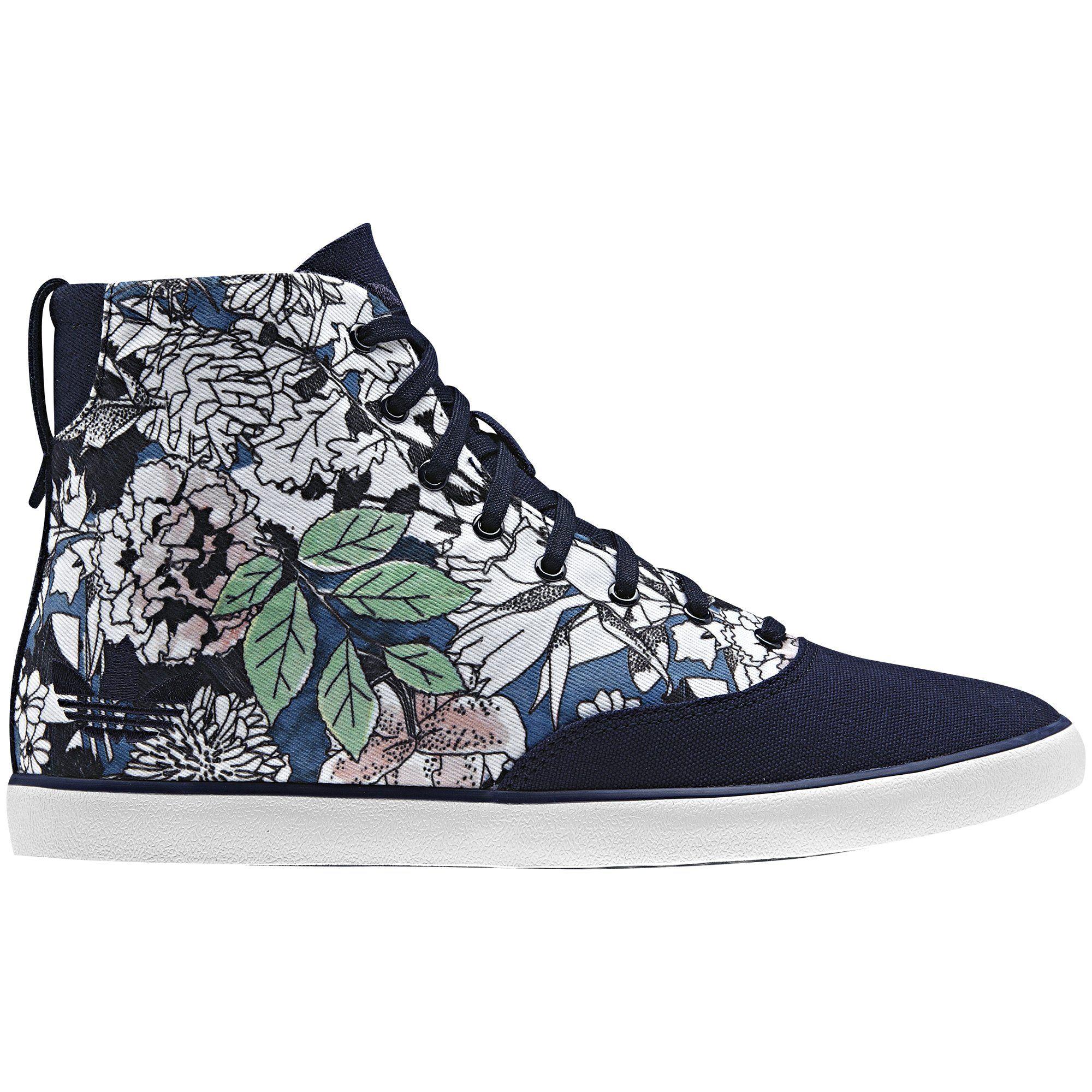 zapatillas caña alta mujer adidas