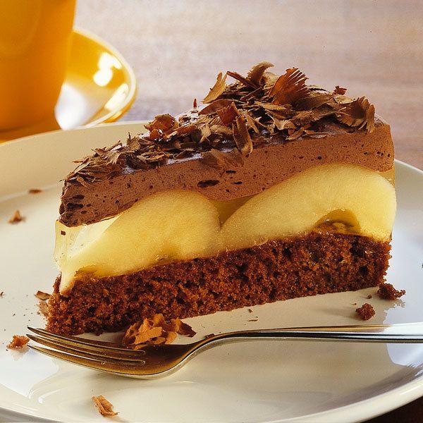 Schoko Birnentorte Recipe Recipes To Make Cake Desserts Torte