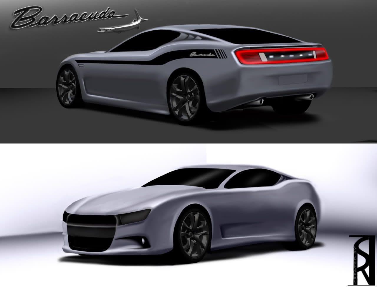 2015 Dodge Barracuda >> Dodge Barracuda 2015 Sketch Pic Dream Cars Futuristic