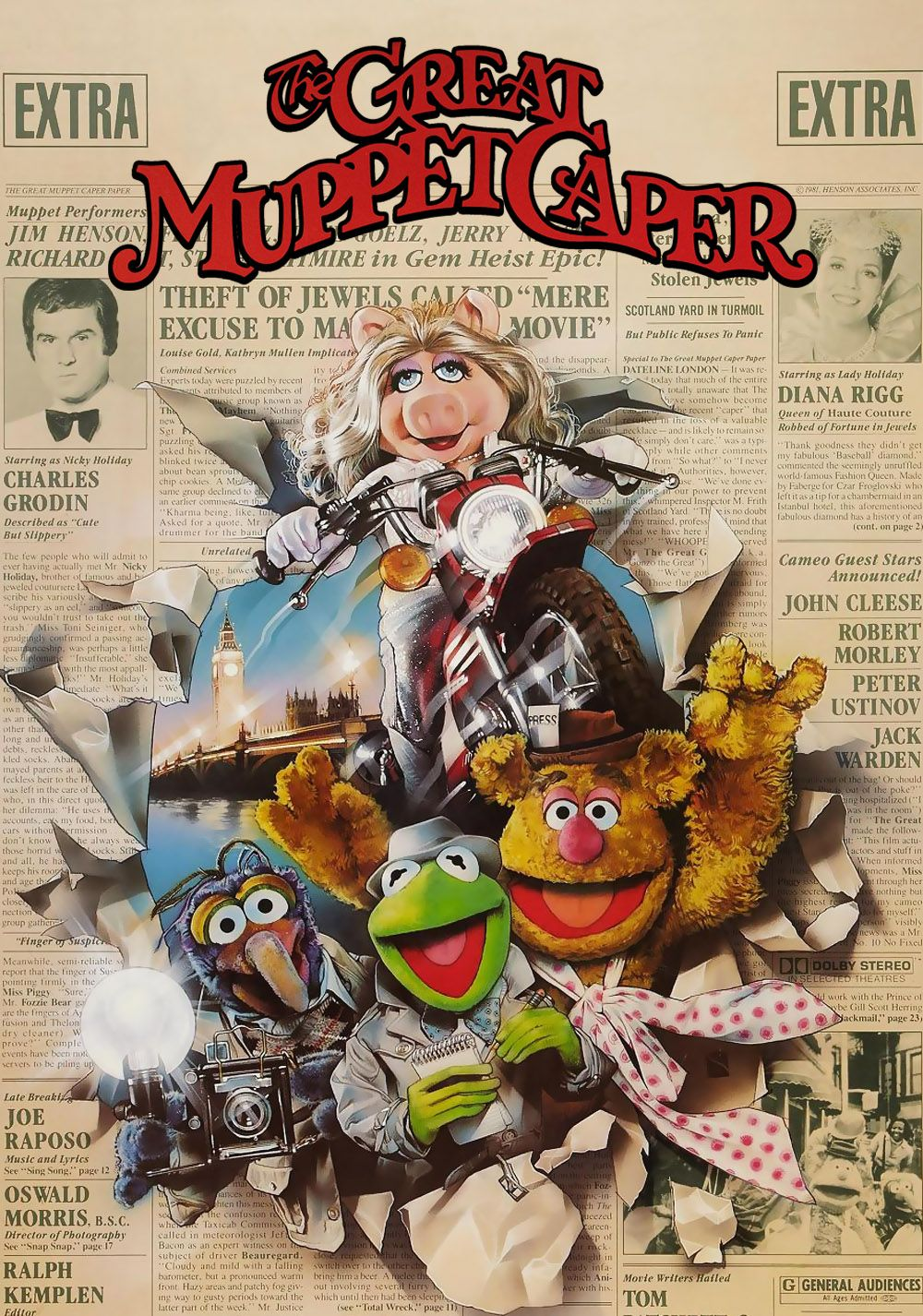 Image result for the Great Muppet Caper (1981)
