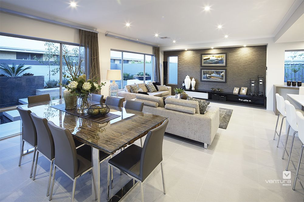 Dining Room Area The Lexington Double Storey Display Home Design