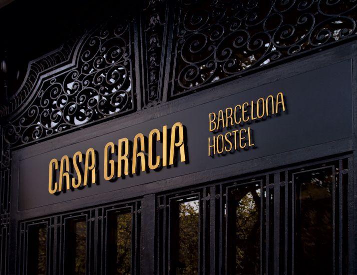 casa gracia barcelona boutique hostel mayscula brands