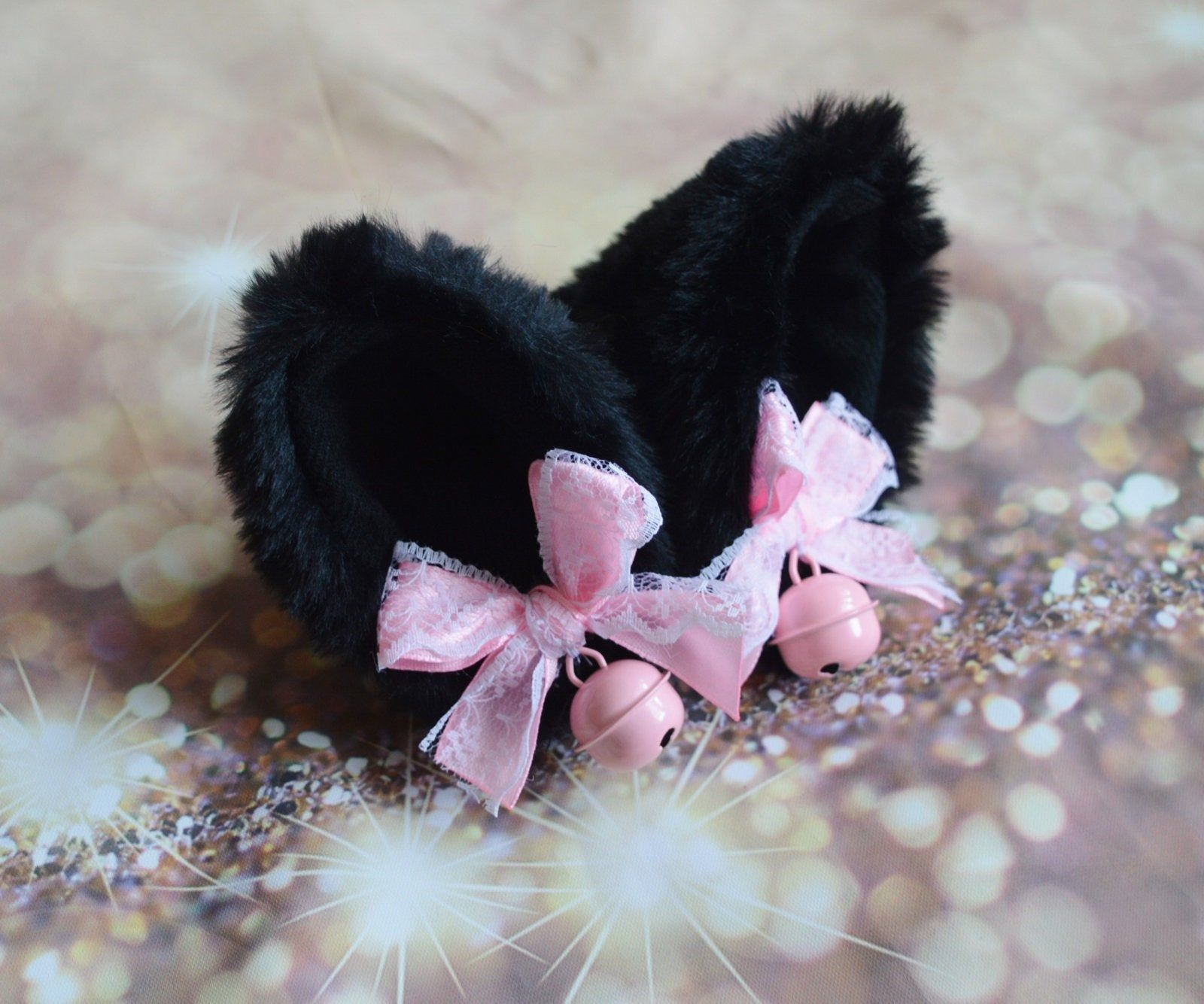 Made To Order Kitten Play Clip On Cat Ears With Ribbon Bows Etsy In 2020 Kitten Play Gear Kittens Playing Kitten Costumes