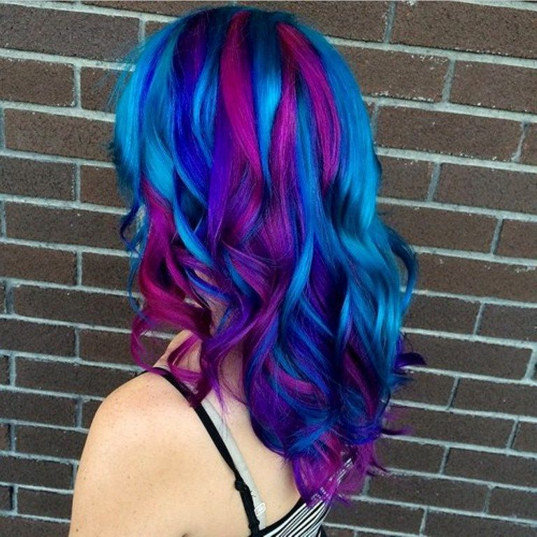 Top 14 Best Multi-Color Looks that Take Rainbow Hair to the Next ...