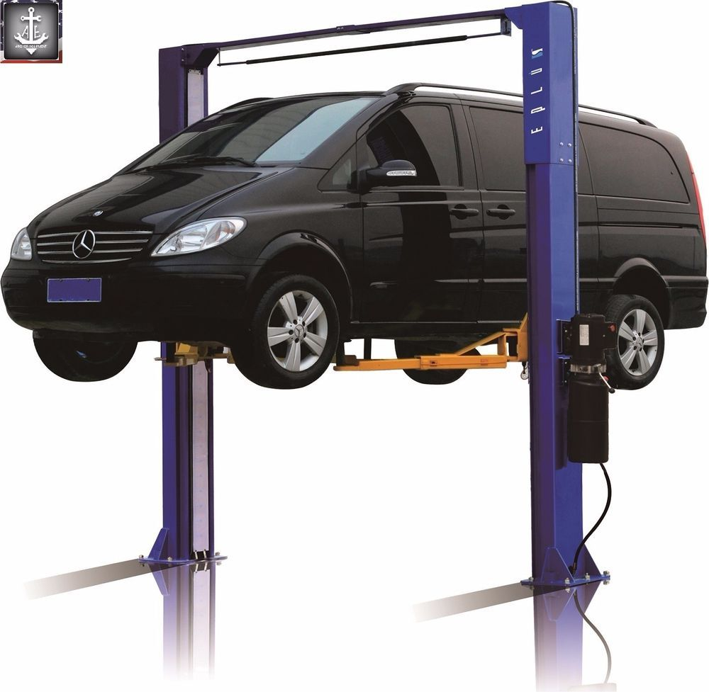 2 Post Symmetric Over Head Car Lift L1100 10,000 LB Eplus