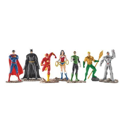 Schleich The Justice League Big Set Justice League Action Figures Superhero Gifts Comic Gifts