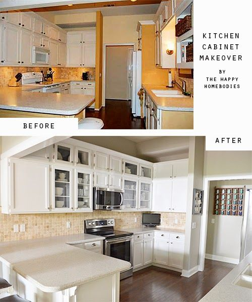 Reveal: Kitchen Cabinet Makeover, Converting Regular