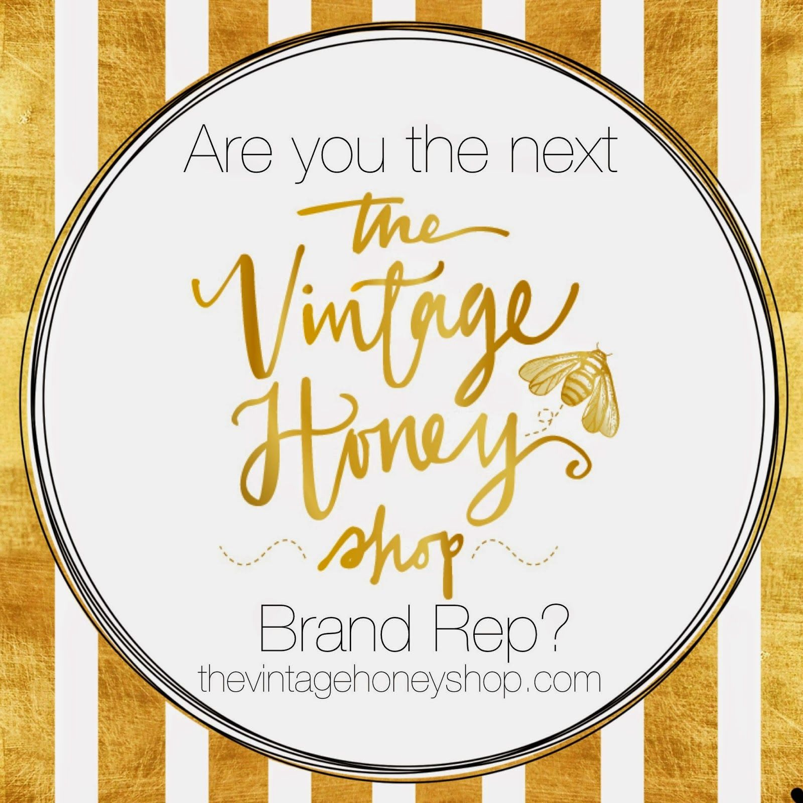 The Vintage Honey Shop: Vintage Honey Brand Rep Search for instagram