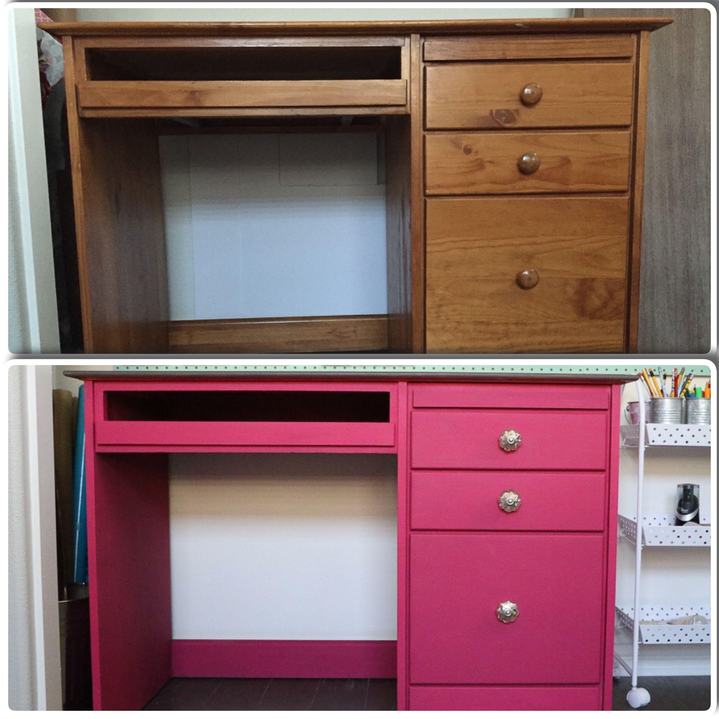 Craft closet makeover desk makeover closet makeover