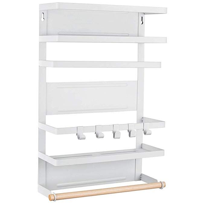 Diy 2x4 Spice Rack: Sunix Kitchen Rack Fridge Magnetic Organizer, 12.2x4.4x18