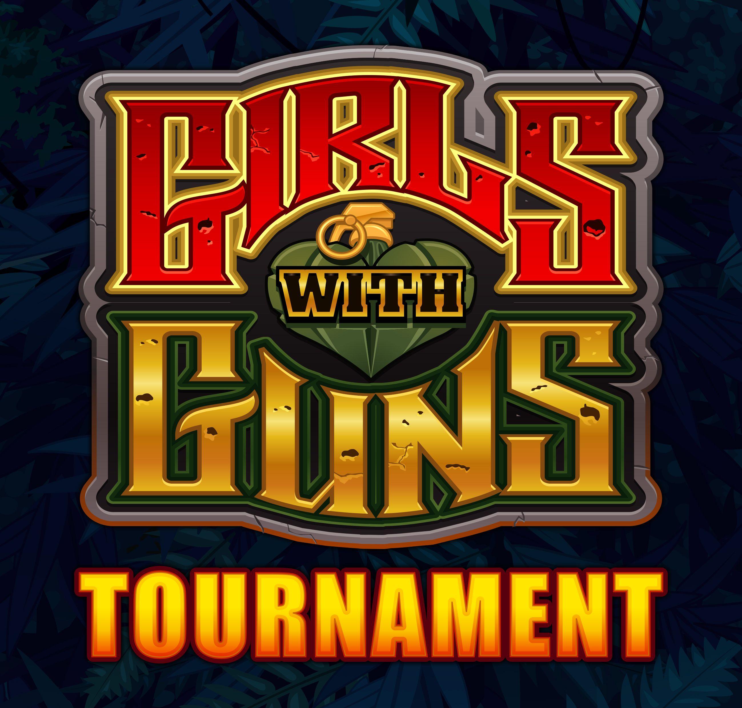 Girls with guns tournament game logo online casino casino