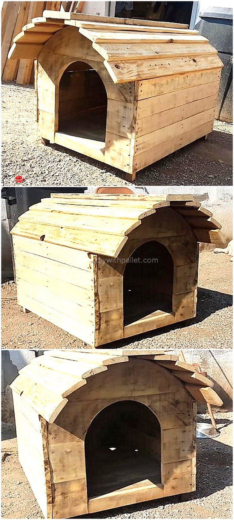 Cheap Home Furnishing With Used Wood Pallets #oldpalletsforcrafting