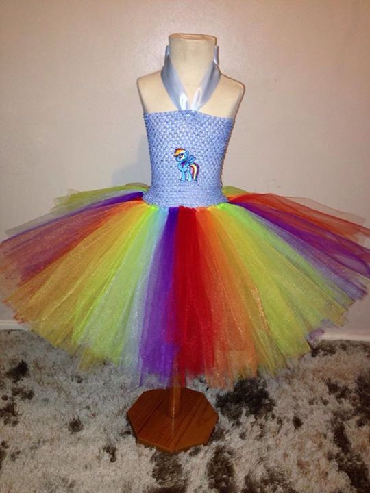 bca3331b053 My Little Pony tutu. This one is rainbow dash. Absolutely love this one so