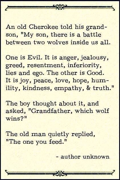 A good quote about being a good person