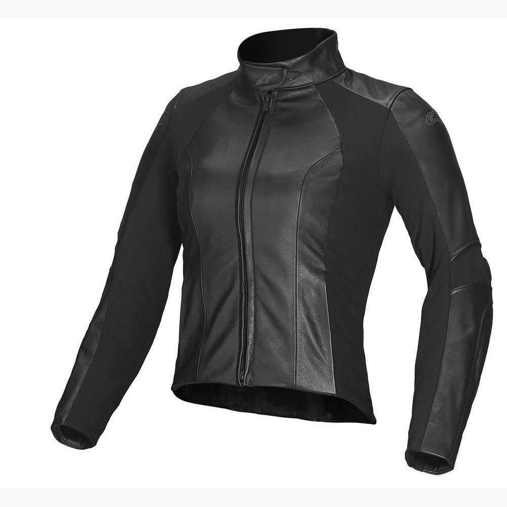 Leather jacket online australia - Alpinestars Stella Vika Ladies Leather Jacket Black Online Motorcycle Accessories Australia Scm